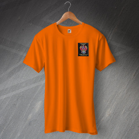 Castleford Rugby T-Shirt Embroidered 1969