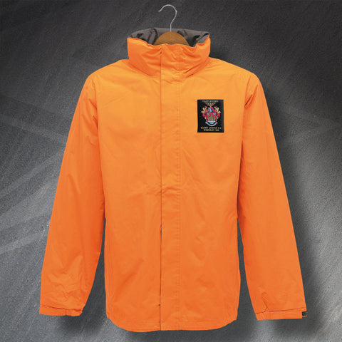 Castleford Rugby Jacket Embroidered Waterproof 1969