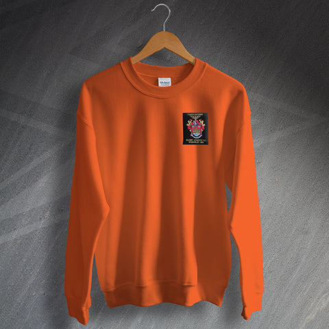 Castleford Rugby Sweatshirt Embroidered 1969