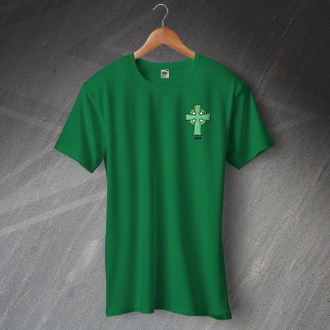 Celtic Football T-Shirt Embroidered 1888