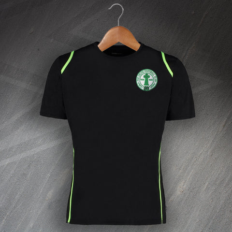 Celtic Football Shirt Embroidered Cooltex Contrast Centenary