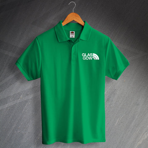 Celtic Football Polo Shirt Embroidered Glasgow