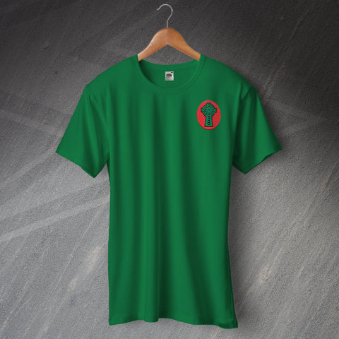 Celtic Football T-Shirt Embroidered 1890