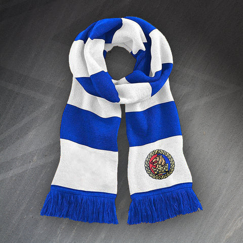 Chester Football Bar Scarf Embroidered 1992