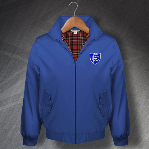 Chesterfield Football Harrington Jacket Embroidered 1958