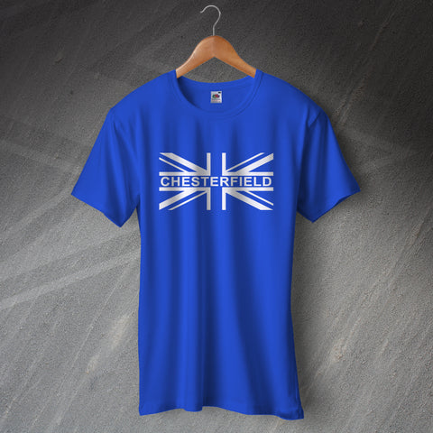 Chesterfield Football T-Shirt Union Jack
