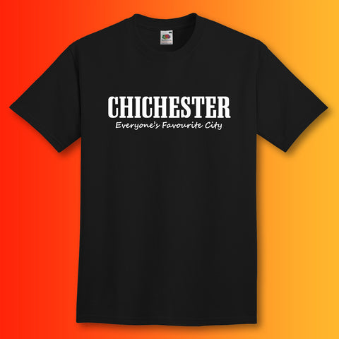 Chichester Everyone's Favourite City T-Shirt
