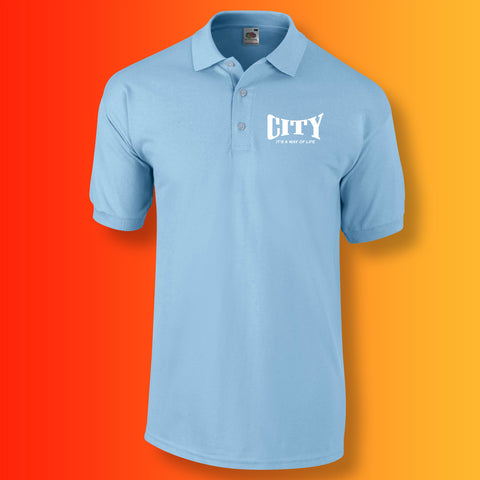 City It's a Way of Life Polo Shirt