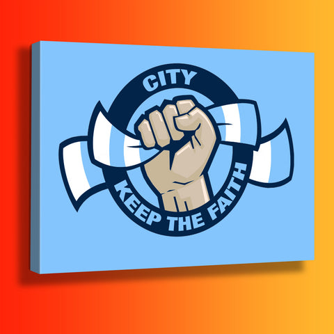 City Keep The Faith Canvas Print