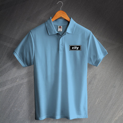 City Football Polo Shirt Embroidered