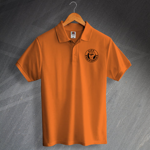 Hull Football Polo Shirt Embroidered City Pride of Humberside
