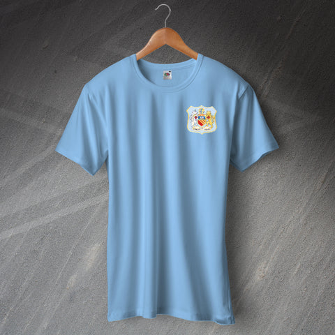 City Football T-Shirt Embroidered 1976