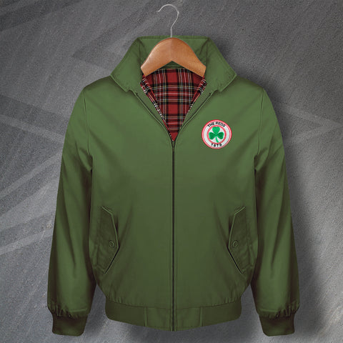 Retro Cliftonville Classic Harrington Jacket with Embroidered Badge