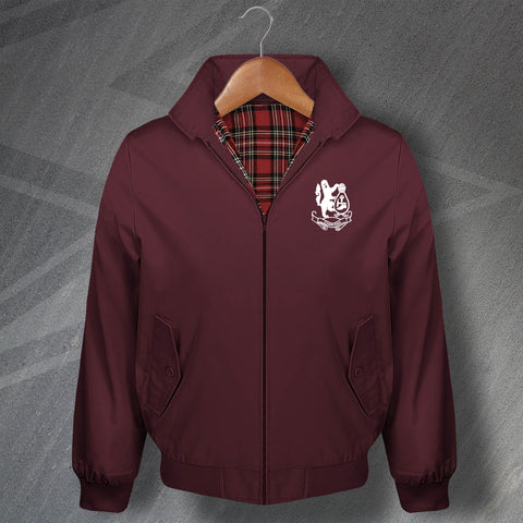 Retro Cobblers Embroidered Classic Harrington Jacket