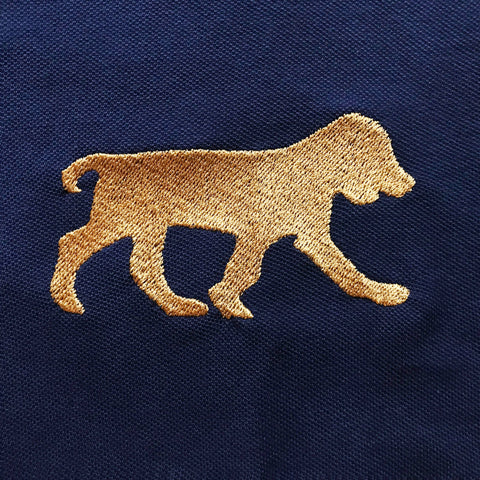 Cocker Spaniel Embroidered Badge