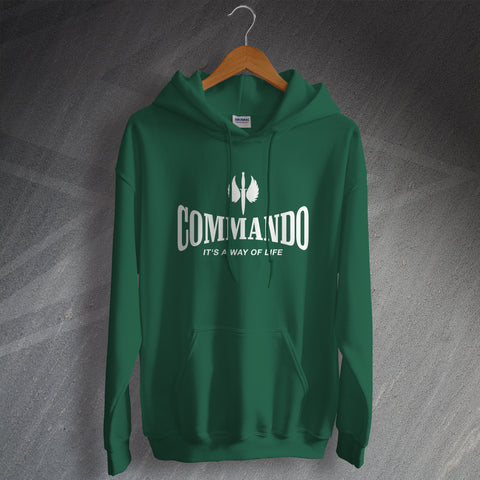 Commando Hoodie It's a Way of Life