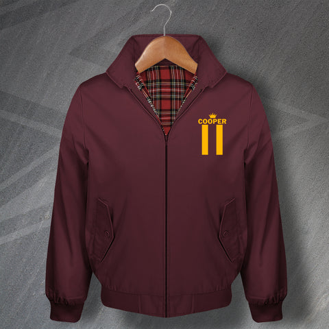 Cooper 11 Football Harrington Jacket Embroidered