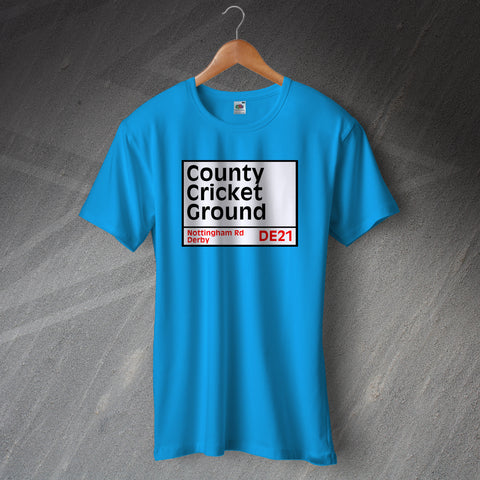 Derbyshire Cricket T-Shirt
