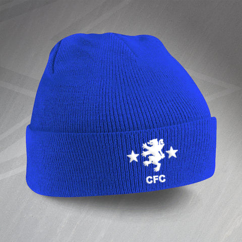 Cove Rangers Football Beanie Hat Embroidered 1982
