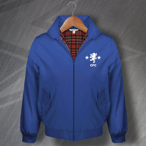 Cove Rangers Football Harrington Jacket Embroidered 1982