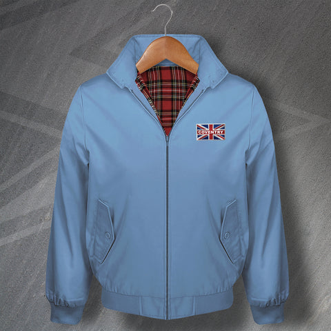 Coventry Football Harrington Jacket Embroidered Union Jack
