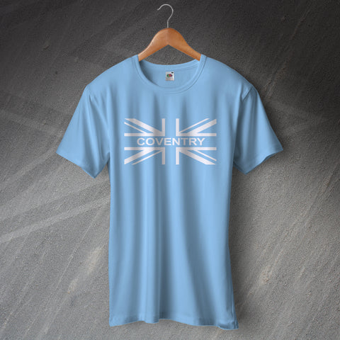 Coventry Football T-Shirt Union Jack
