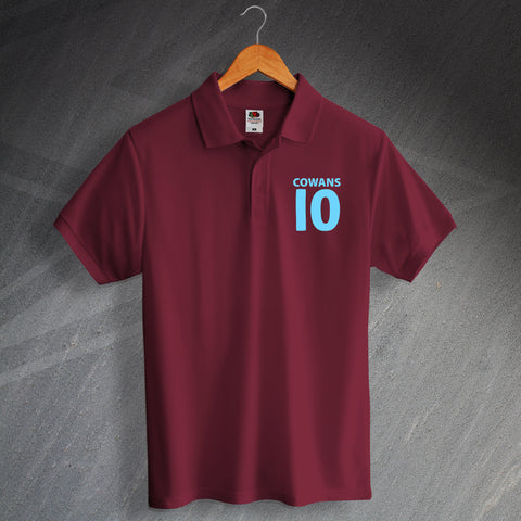 Villa Football Polo Shirt Embroidered Cowans 10