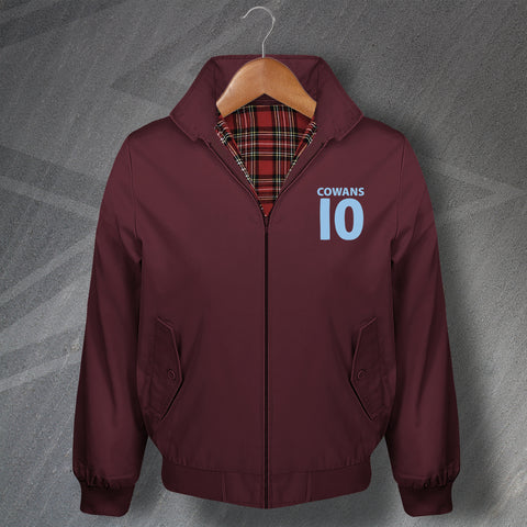 Villa Football Harrington Jacket Embroidered Cowans 10