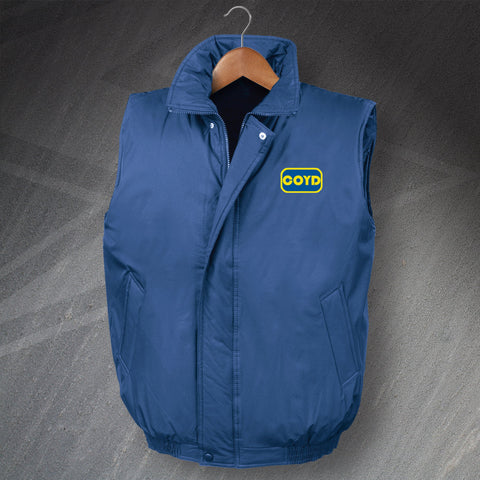 COYD Embroidered Padded Gilet