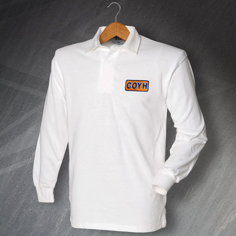 COYH Embroidered Long Sleeve Football Shirt