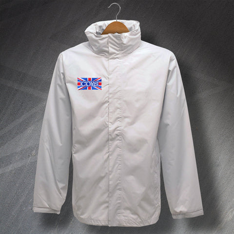 COYS Embroidered Union Jack Waterproof Jacket