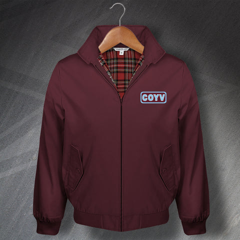 Villa Football Harrington Jacket Embroidered COYV