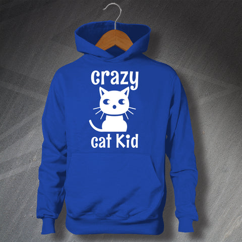 Crazy Cat Kid Children's Hoodie