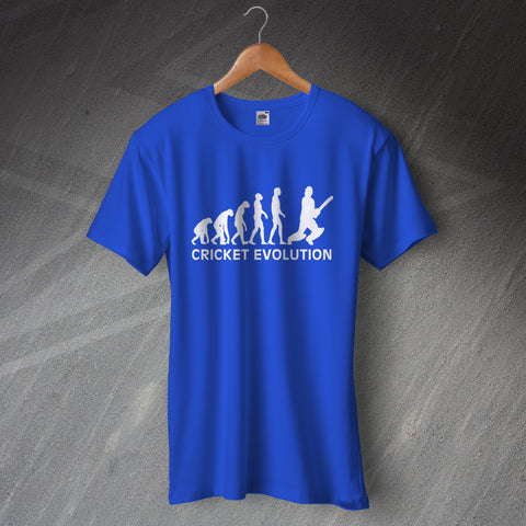 Cricket T-Shirt Cricket Evolution