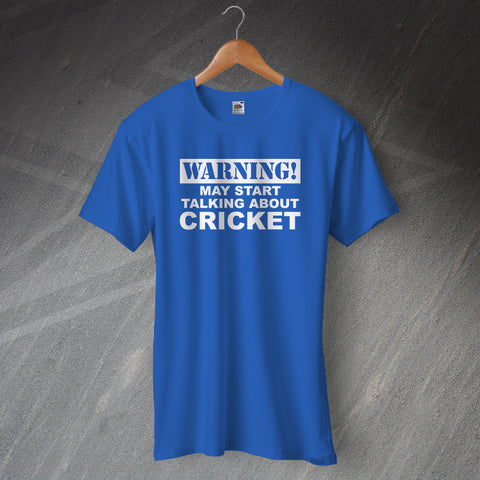Cricket T-Shirt Warning May Start Talking About Cricket