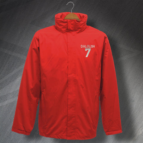Liverpool Football Jacket Embroidered Waterproof Dalglish 7