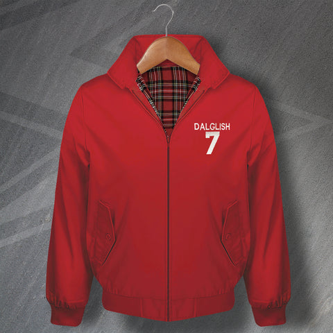 Dalglish 7 Football Harrington Jacket Embroidered