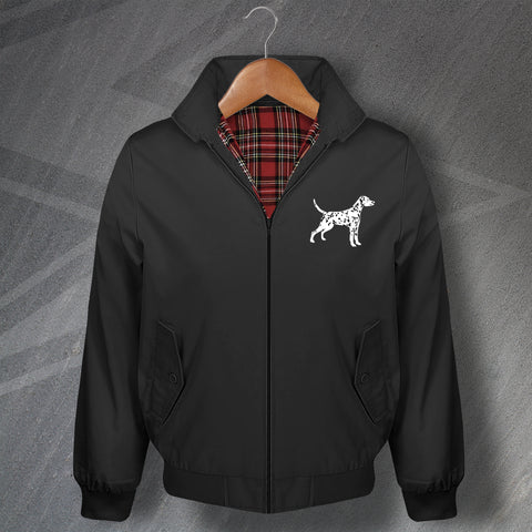 Dalmatian Harrington Jacket Embroidered