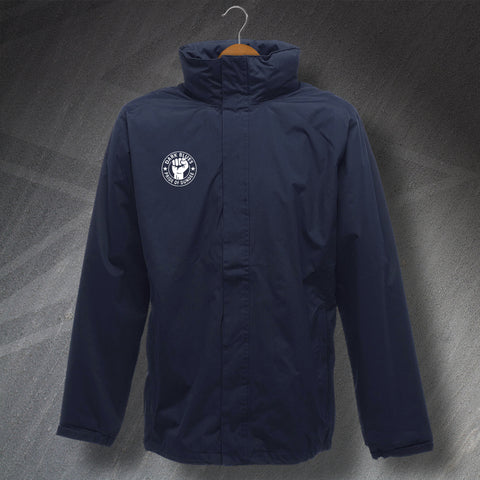 Dark Blues Pride of Dundee Embroidered Waterproof Jacket