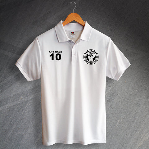 Derby Football Polo Shirt Printed Personalised The Rams Pride of Derbyshire