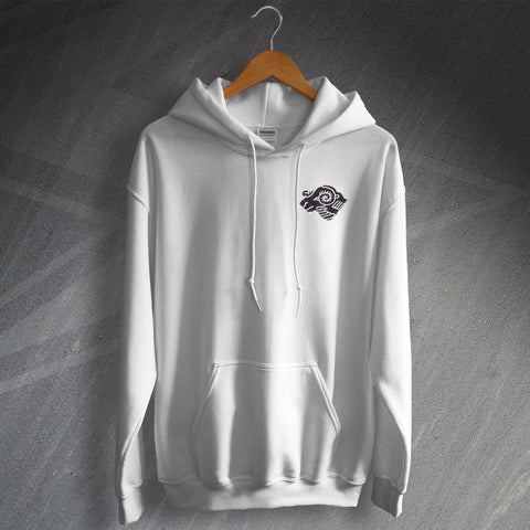 Derby Football Hoodie Embroidered 1968