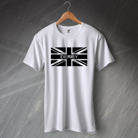 Derby Football T-Shirt Union Jack