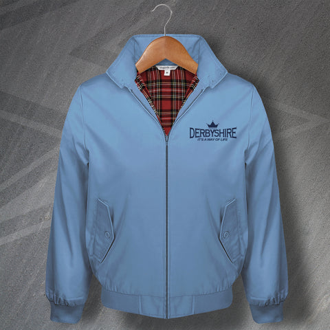 Derbyshire Cricket Harrington Jacket