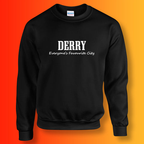 Derry Everyone's Favourite City Sweatshirt