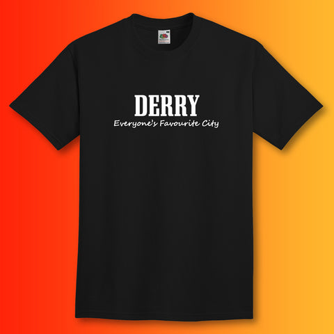 Derry Everyone's Favourite City T-Shirt