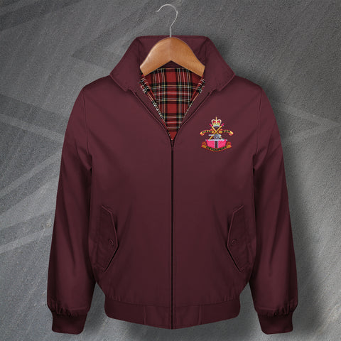 Devonport Field Gun Crew Embroidered Classic Harrington Jacket