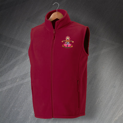 Devonport Field Gun Crew Embroidered Fleece Gilet