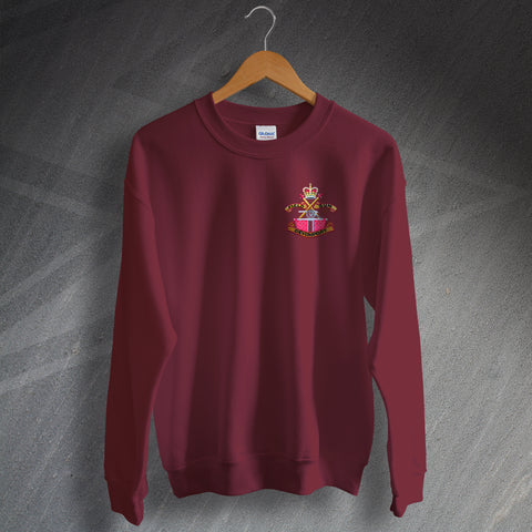 Devonport Field Gun Crew Embroidered Sweatshirt