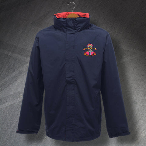 Devonport Field Gun Crew Embroidered Waterproof Jacket