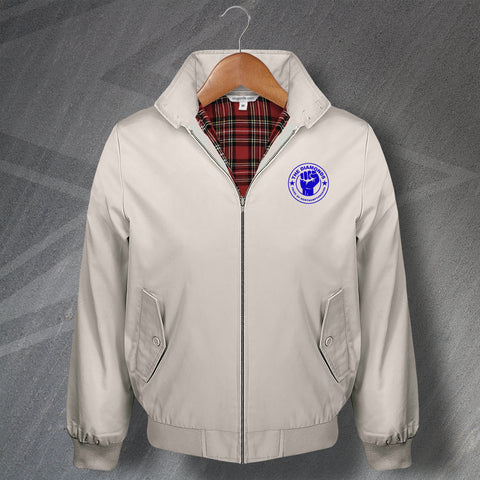 Rushden & Diamonds Football Harrington Jacket Embroidered The Diamonds Pride of Northamptonshire